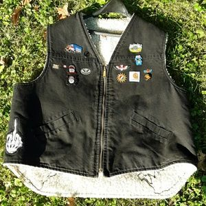Grateful Dead Tour Vest.  Vintage, one of a kind